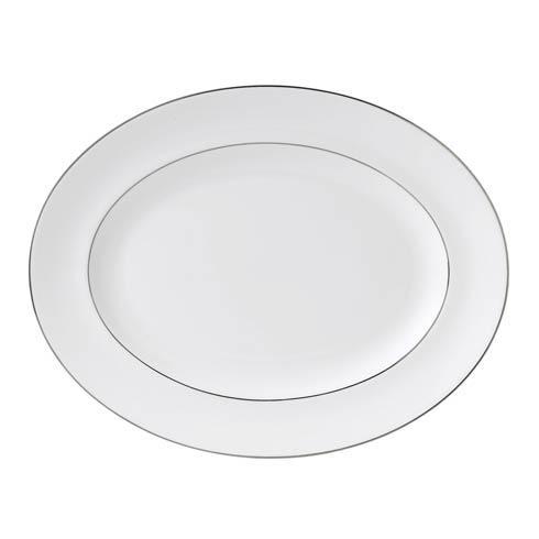 Wedgwood  Signet Platinum Oval Platter $125.00