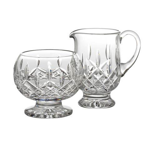 Waterford  Lismore  Footed Sugar & Creamer $215.00