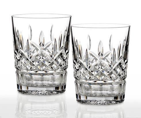 Waterford  Lismore  12 oz Double Old Fashioned, Set of 2 $160.00