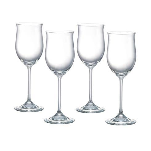 Young White Wine, Set of 4