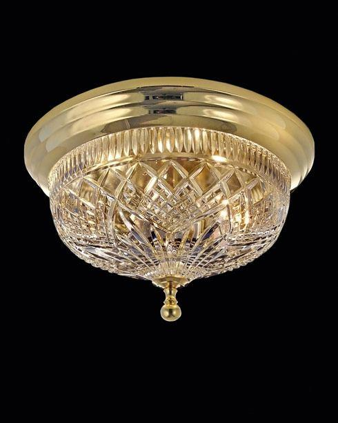 $845.00 Beaumont Ceiling Fixture  17.0  Polished Brass