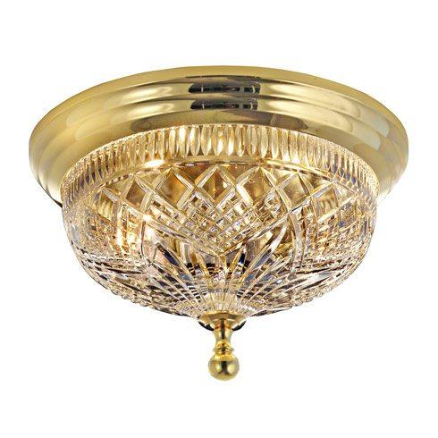 $445.00 Beaumont Ceiling Fixture  12.0  Polished Brass