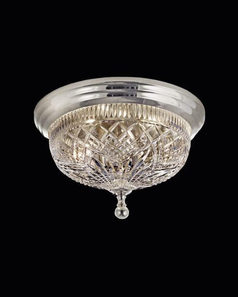 $425.00 Beaumont Ceiling Fixture  12.0 Silver