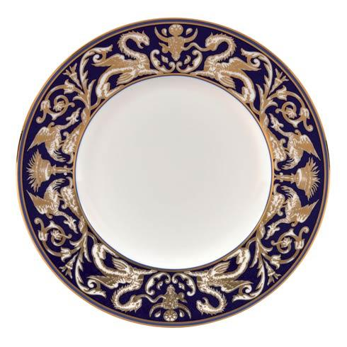Accent Salad Plate Scroll