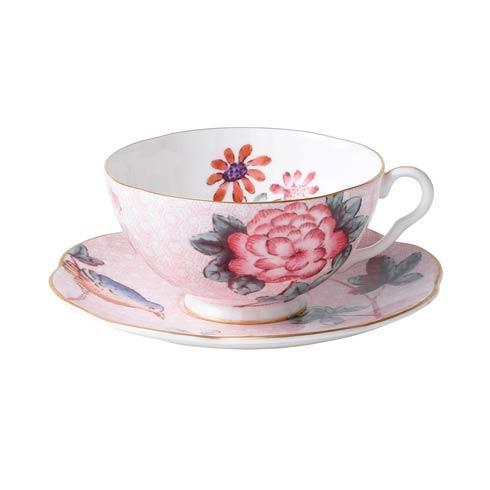 Teacup & Saucer Set Pink