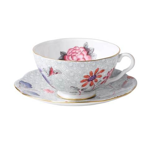 $44.95 Teacup & Saucer Set Green