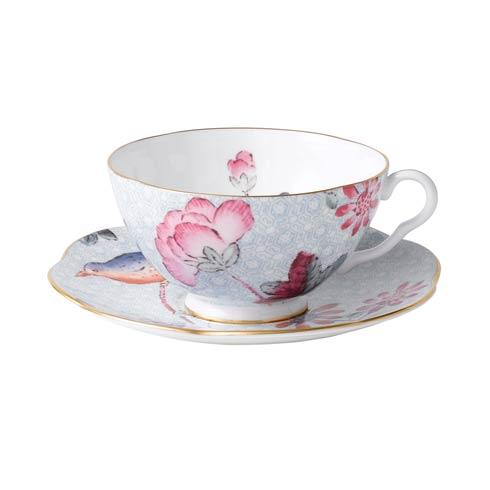 $44.95 Teacup & Saucer Set Blue