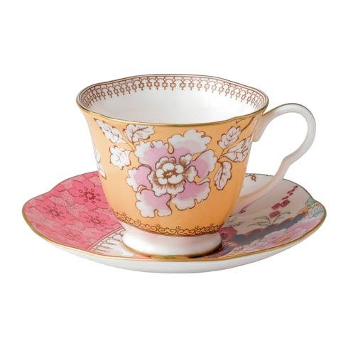 $65.00 Teacup & Saucer Set Floral Bouquet