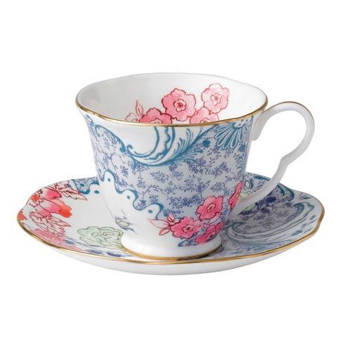 $52.00 Teacup & Saucer Set Spring Blossom