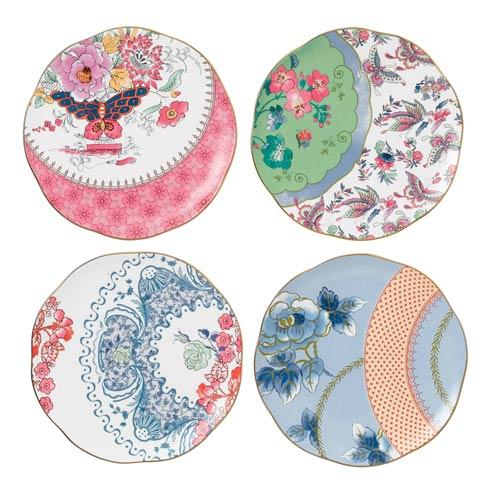 $108.00 Tea Plates Set/4