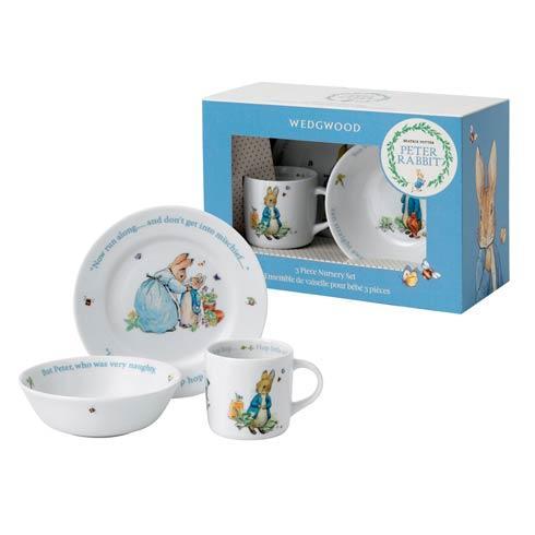 Boy'S 3-Piece Set (Plate, Bowl & Mug)