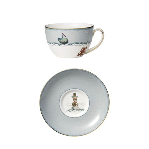 $140.00 Breakfast Cup & Saucer Set