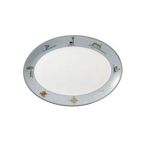 """$180.00 Oval Platter 14"""""""