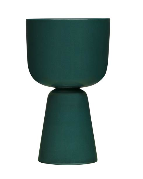 "$90.00 Dark Green Plant Pot – 10.25"" X 6"""