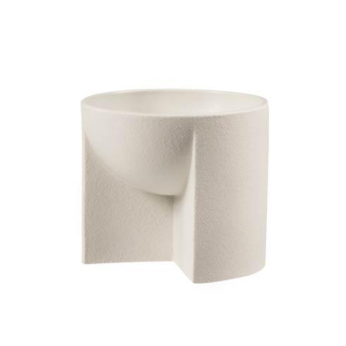 """$163.00 Beige Ceramic Bowl – 6.25 X 5.5"""""""