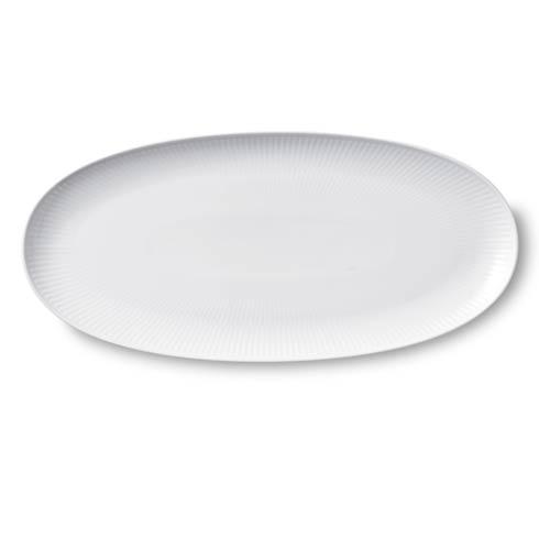 "$100.00 Long Oval Dish – 14.5"""