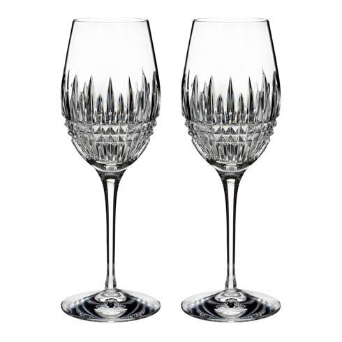 Waterford  Lismore Diamond Essence  Wine, Set of 2 $180.00