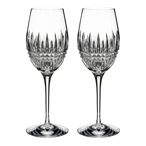 Waterford  Lismore Diamond Essence  Wine, Set of 2 $128.00