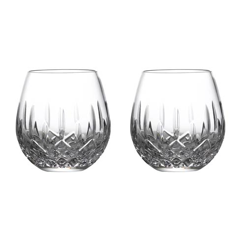 $108.00 Stemless Wine Deep Red, Set of 2