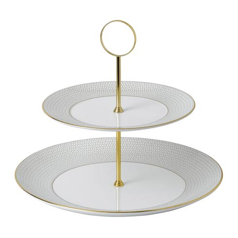 $135.00 Cake Stand Two-Tier