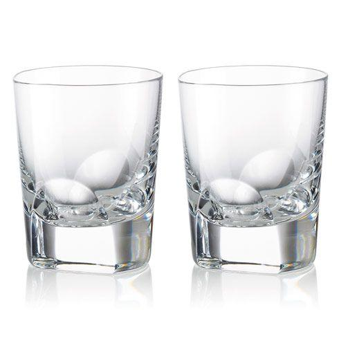Rogaska Crystal  Manhattan  Dof 9 oz Set/2 $90.00