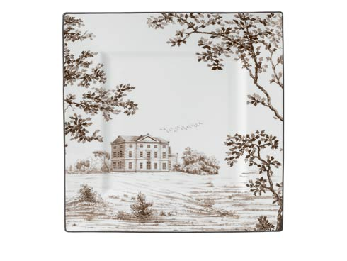 $95.00 Accent Plate Square 10""