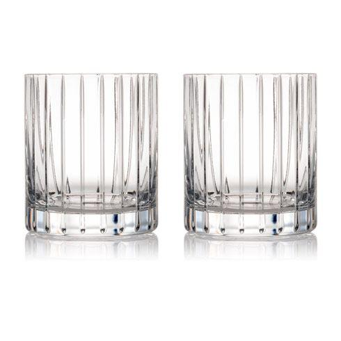 Rogaska Crystal  Avenue Dof 12oz Pair $60.00