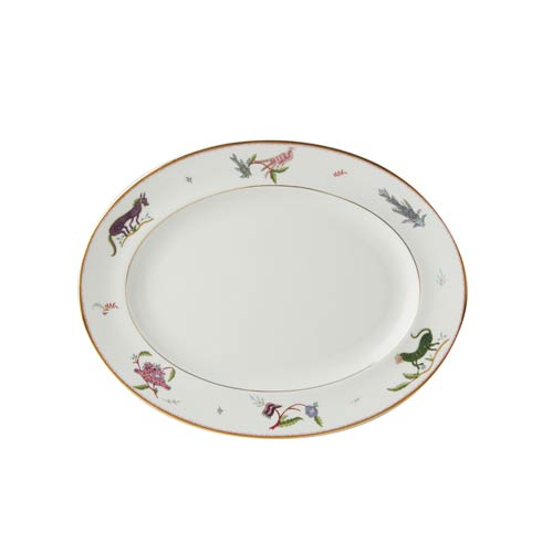 "Wedgwood  Mythical Creatures  Oval Platter 14"" $160.00"