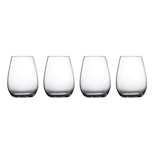 $39.99 Wine Stemless 18.6 OZ Set of 4