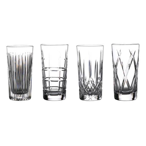Waterford  Gin Journeys Hiball 16 Oz, Set of 4 (Aras, Cluin, Lismore & Olann) $260.00