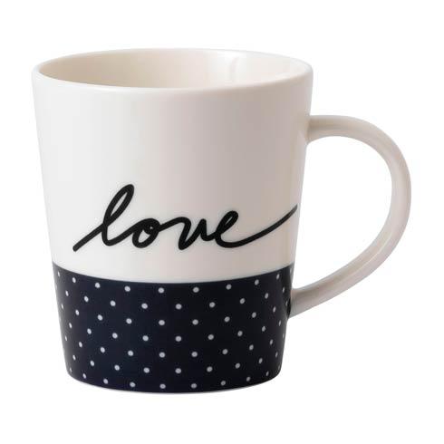 $14.00 Navy Blue Love Mug