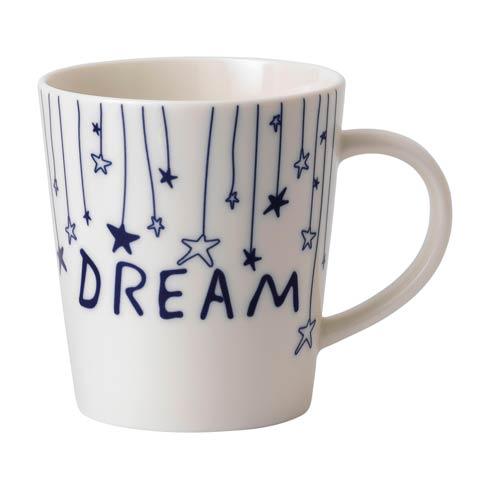 $14.00 Navy Blue Dream Stars Mug