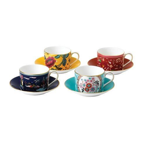$285.00 Teacup & Saucer Set/4