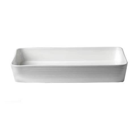 """Royal Doulton  Maze White Roaster Rectangular 15.5"""" $117.00"""