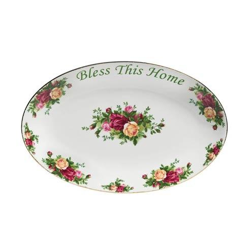 $32.00 Bless This Home Platter, 12""