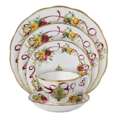 Royal Albert  Old Country Roses Christmas Tree Old Country Roses Christmas Tree 5-Piece Place Setting $101.99