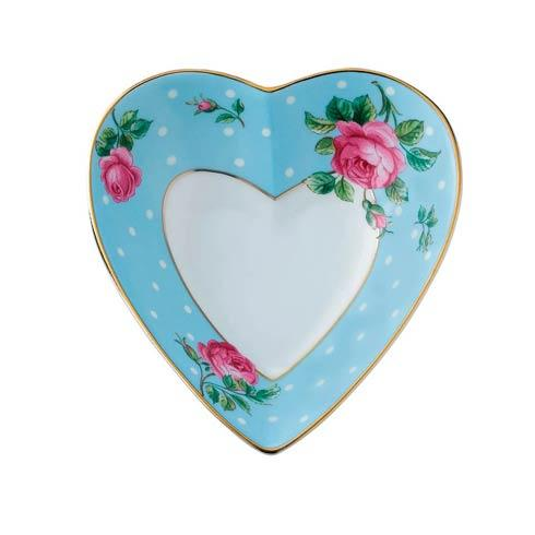 $25.99 Heart Tray Polka Blue
