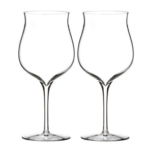 Burgundy Glass, Pair