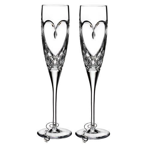 Waterford  Toasting Flutes Waterford Love True Love Flute, Set of 2 $120.00