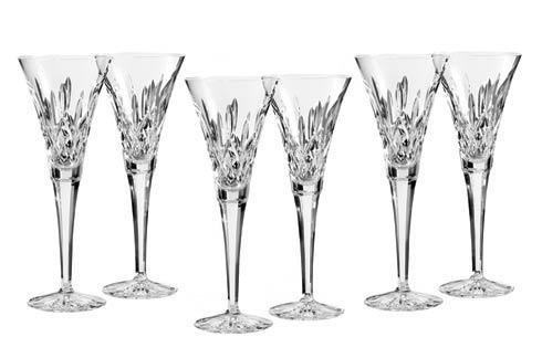 Waterford  Lismore  Toasting Flute S/6 $375.00