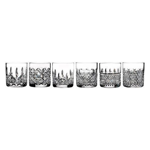 $295.00 Heritage Straight Sided Tumbler S/6 - (Lismore, Colleen, Alana, Powerscourt, Araglin, Irish Lace)