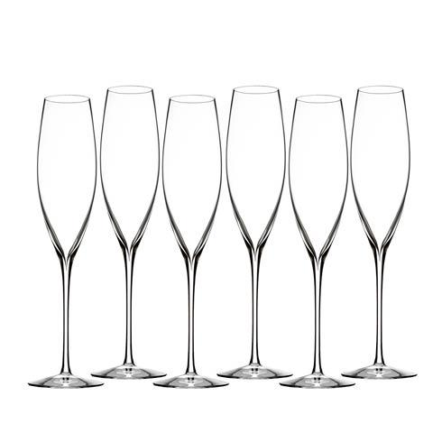 Waterford  Elegance  Classic Champagne Toasting Flute S/6 (Classic Flutes) $175.00