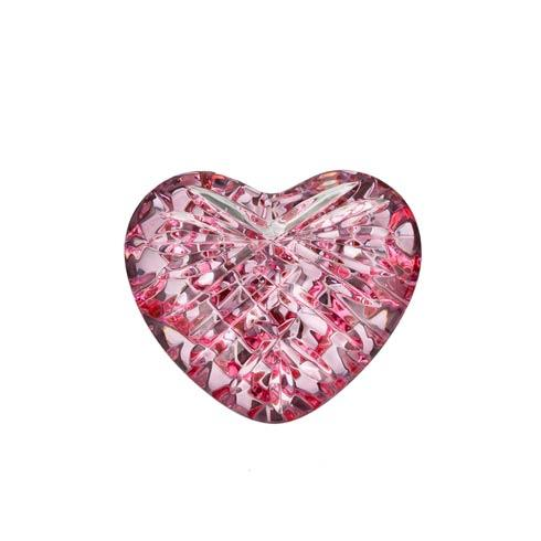 Pink Heart Paperweight