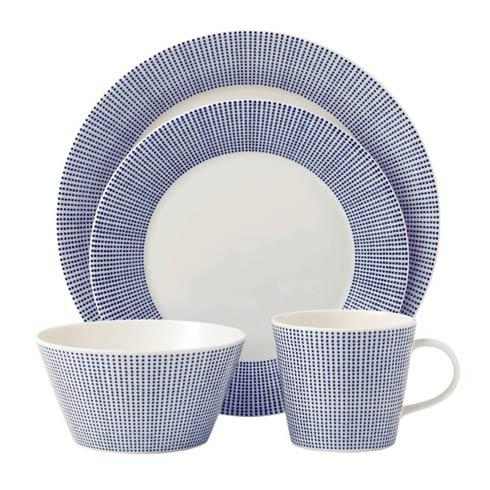 Royal Doulton  Pacific Dots 4-Piece Place Setting (Dots) $39.99
