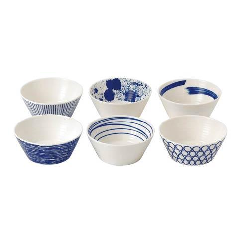 Royal Doulton  Pacific Mixed Patterns Set Of 6 Tapas Bowls  (Mixed Patterns) $29.99
