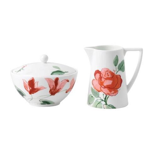 Jasper Conran Floral Cream & Sugar Set