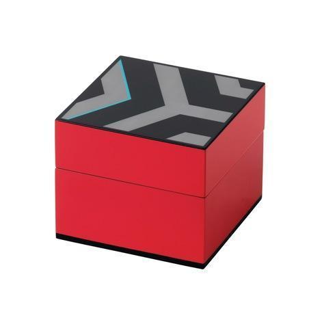 "Box Lidded 4.7x4.7"" Pink"