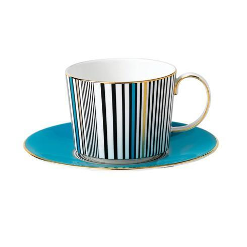 Teacup & Saucer Set Turquoise