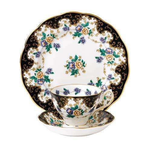 """$60.00 1910 3-Piece Teacup, Saucer & Plate 8"""" Set Duchess"""