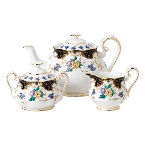 $144.00 1910 3-Piece Teapot, Sugar & Creamer Set Duchess